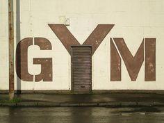 Gym; Environmental Graphic Design