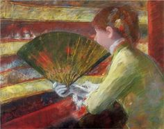 Theater - Mary Cassatt