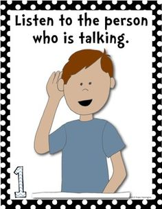 Classroom Posters {Morning Meeting} Setting Expectations for Students. $