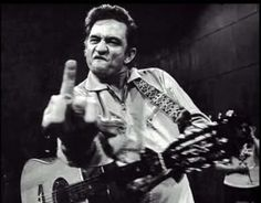 Johnny Cash (at San Quentin)