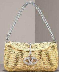 Valentino #Crochet Accessories #fashion #handbags