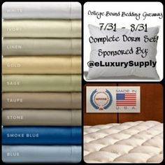 College Bound Bedding Giveaway-WW-ends 08/31 - The World of ContestPatti