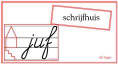 Schrijfhuis - Juf Inger