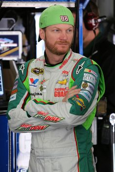 Dale Earnhardt Jr. at New Hampshire Motor Speedway