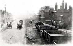 North Woolwich Road, 1895.