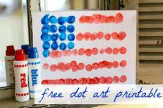 dot art printable