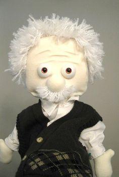 Einstein puppet