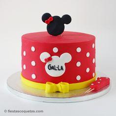Tarta Fondant Minnie Mouse
