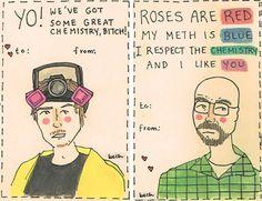 Breaking Bad Valentines.