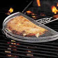 Sur La Table Mesh Quesadilla Grilling Basket