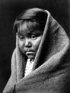 Navajo Child, C1904