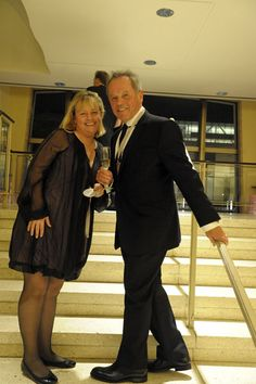 Sherry Yard and Wolfgang Puck (Photo by Michael Harlan Turkell)