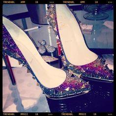 bling bling #wedding shoes