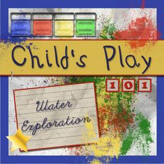 Water Exploration - A collection of ideas for water play and exploration from many talented and creative bloggers.