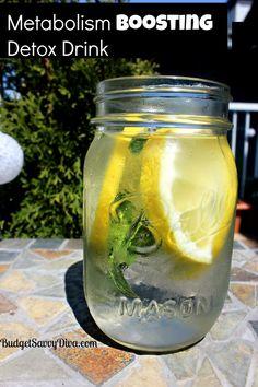 Metabolism Boosting Detox Drink Recipe