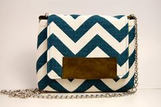 Cute little chevron cross body