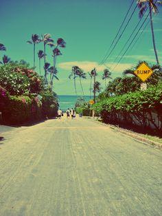 go to the ocean