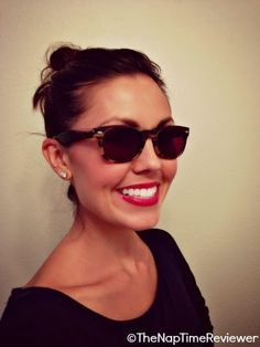 The NapTime Reviewer: Retro-Chic Sunglasses from Firmoo.com + First Pair Free Check out this fun review and discount!