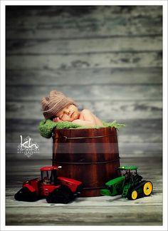 Newborn cowboy hat crochet cowboy hat tan by ElenaRoseBowtique