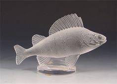 Fish Lalique Hood Ornament