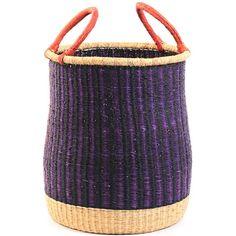 "Ghana Bolga basket, 15"" across, $81"
