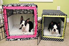 Dog Crate Bumper Pads Sewing Pattern