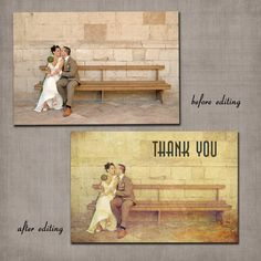 Wedding Postcard -Thank You Cards