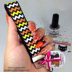 "Sassy Paints: Laquerlicious: ""Chills & Thrills"" Polish For Pit Bulls HalloweenCollaboration with the EmPURRium"