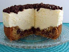 chocolate chips, chocolates, cheesecakes, cooki cheesecak, food, no bake cheesecake, chip cooki, chocol chip, crust