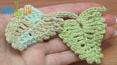 Crochet Leaf Picots Around Tutorial 13 http://sheruknitting.com/videos-about-knitting/crochet-leaf-lessons/item/240-crochet-leaf-with-picots-around.html In this crochet leaf tutorial we will show you how to make a small leaf that has picots around and made of different height posts. Fast to make. Thanks for watching! Leaf was made with Crochet Hook 2.25mm (which is #2 US standard) and with yarn: 55% Cotton, 45% Poly Acryli, 160m/50g.