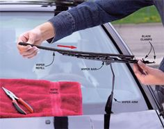 How to replace your windshield wiper blades.