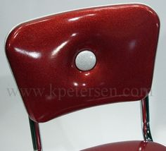 Diner Chair With BIG Button Backrest