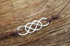 Double infinity bracelet, inspired by the carving on Revenge!