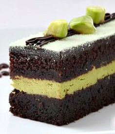 """Layered Chocolate Avocado Cream Cake: Never in a million years thought my husband would eat this! IT IS DELICIOUS and went straight into out """"Favorites"""" recipe file. Have shared it with 4 other people, and heard back from two - both who loved it and asked for the recipe! 