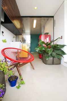 An Open Apartment in Brazil Full of Raw Materials in interior design architecture  Category