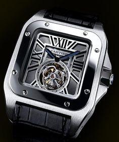 Cartier SANTOS 100 FLYING TOURBILLON