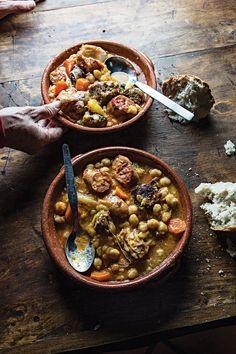 Cozido de Grão (Chickpea Stew with Lamb, Pork, and Veal) | SAVEUR
