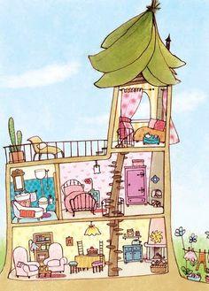 My Flower Fairy House by Elena Temporin