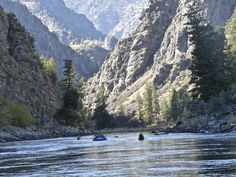Salmon River National Wilderness Area of Idaho.