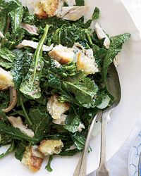 Kale Salad with Chicken (leave out croutons)