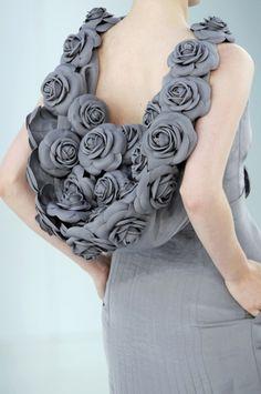 Grey roses.
