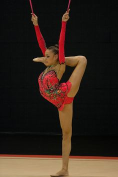 2012 Olympic Rhythmic Gymnast