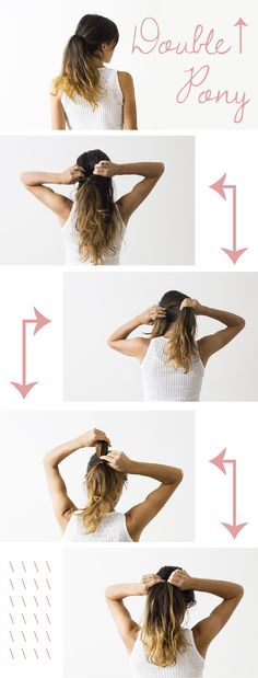A simple trick to upgrade a simple ponytail! Plus 2 more up-do's you can do yourself in just minutes: http://www.ehow.com/ehow-style/blog/3-fresh-ways-to-style-a-messy-ponytail/?utm_source=pinterest&utm_medium=fanpage&utm_content=blog