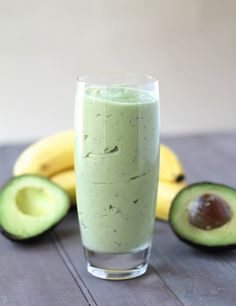 Avocado Banana Smoothie by zestandzeal #Smoothie #Avocado #Banana #Chia #Honey #Coconut_Milk #Healthy