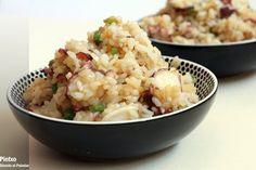 arroz frito con pulpo