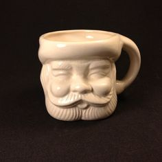 Vintage Santa Claus Christmas Holiday Mug | eBay
