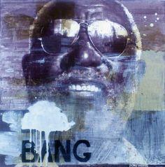 "François Bard, Bang, 2012, Mixed Medium on Paper, 23"" x 22¾"" #Art #Painting #BDG #BDGNY #Contemporary"