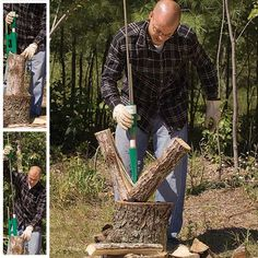 Split logs using minimum force (allegedly). I want one so badly I could spit.