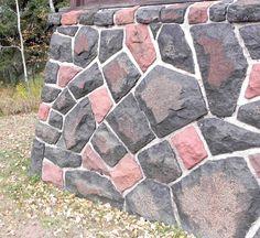 Civilian Conservation Corps Stonework: Civilian Conservation Corps stonework at Gooseberry Falls State Park - Part II