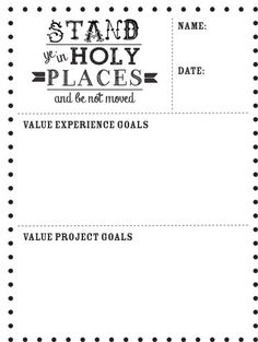 personal progress goal card